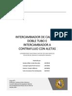 Reporte Intercambiadores de Calor UNMSM 100