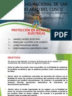 Protección en Microcentrales Eléctricas