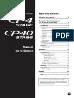 CP4 Stage Manuel de référence