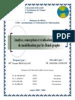 Analyse, conception et réalisation d'un outil de modélisation par les Bon-graphs