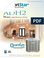 Adh2 14 SEER • High Efficiency • R410a