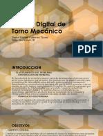 Control Digital de Torno Mecánico