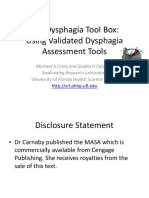 1533 the Dysphagia Toolbox Validated Assessment Tools for Dysphagia in Adults