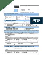 Formulario Unico de Edificacion - FUE Lic. REFACCION