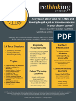 Mar-May 2019 Rethinking Careers Flyer - OC&Canby