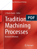 Traditional Machining Processes Research Advances
