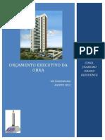 Orçamento Executivo da obra