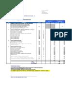 Cuadro de Ofertas Montaje Inyectora l3