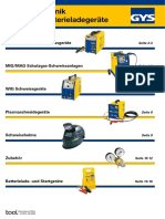 Schweißtechnik - Batterieladegeräte