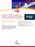 CATIA FPE Fabricated Product Creation