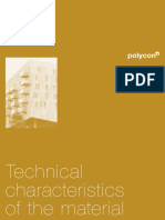 Polycon 2014 Technical Characteristics of the Material