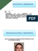 Desviacion Septal y Rinoseptal