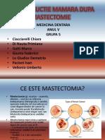 Reconstructie Mamara Dupa Mastectomie