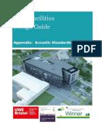 DG Appendix 3 Acoustic Standards V1.3