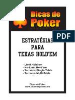 Dicas de Poker - Estratégias Para Texas Hold'Em