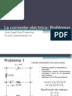 Problemas Corriente Electrica