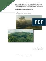 MC2003 Estudio de microcuencas en la comarca Ngäbe