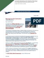 12 Metre Yacht Club E-Newsletter, January 2019