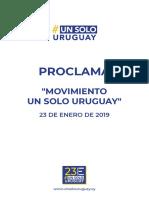 Proclama USU