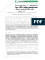 Participatory Slum - Coproduction an the Absent Ground of the City. 2016