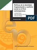 Politicas de La Identidad-fragmentación y Conflicto Social en El Perú Contemporáneo