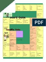 Boardgame Causative Verbs