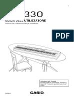 Casio PX-330 Guida All'Utilizzo