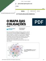 O Globo - O Mapa Das Coligações