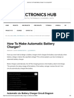 Automatic Battry Charger