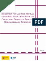 Manual IV Normativa Permisos Conduccion 2018