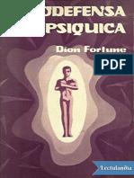Autodefensa Psiquica - Dion Fortune