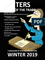 Writers Tricks of the Trade Winter 2019 Issue