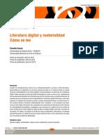 Kozak - Literatura digital y materialidad
