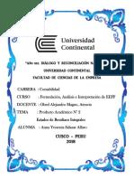 Pa2 - Formulación, Análisis e Interpretación de Eeff