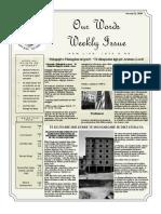 Newsletter Volume 10 Issue 03