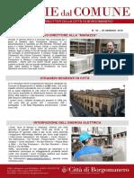 Notizie Dal Comune di Borgomanero del 25 Gennaio 2019
