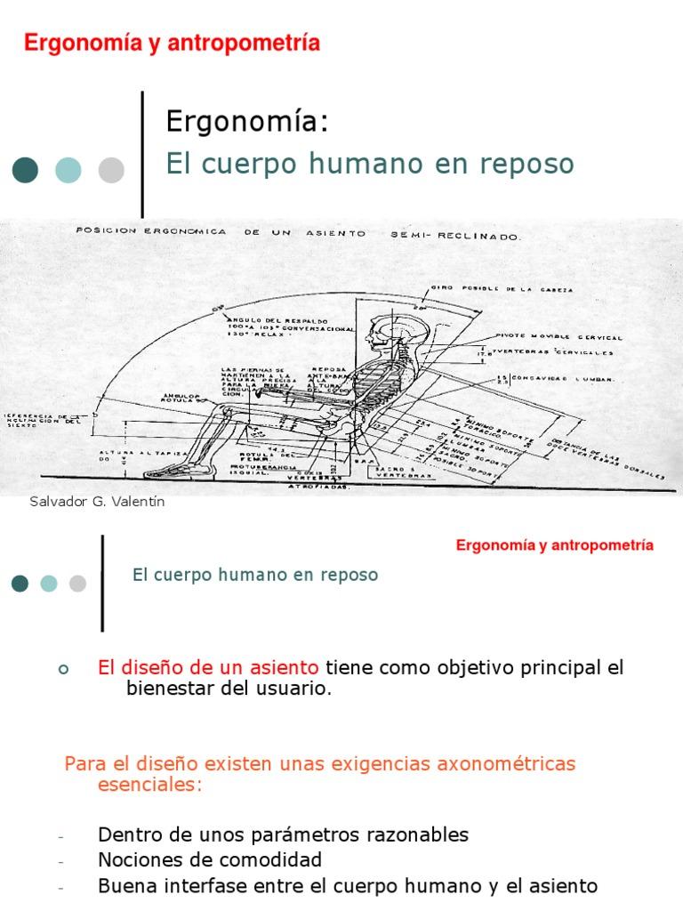 El Cuerpo Humano en Reposo