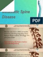 Matastatic Spine Disease