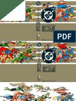 DC Comics Style Guide 1982