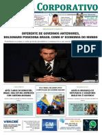 Jornal Corporativo Ediçao Nº 3039 de 24 de Janeiro de 2019