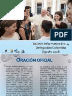 Boletín No. 4 JMJ Panamá 2019 - CEC