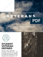 veteran identity development