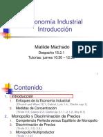 Economía Industrial,