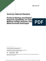 C37.53.1-1989 - American National Standard High-Voltage Current-Limiting Motor-Starter Fuses -- Conference Test Procedures