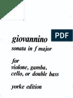 Giovaninno Sonata in f major