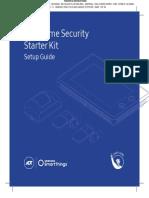Home Security Starter Kit ADT Samsung