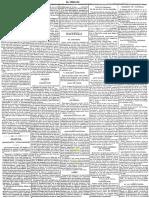 Periódico El Combate 4 abril 1880