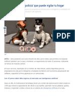 Aibo, La Mascota 'Policía' Que Puede Vigilar Tu Hogar - TecReview