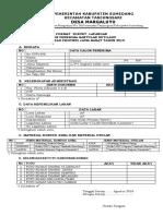 Format Survey Rutilahu Tahun 2019