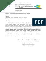 Surat Perpanjangan Ijin Operasional Rs